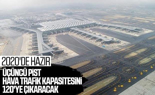 İstanbul Havalimanı'nda 3'üncü pistin yapımı devam ediyor