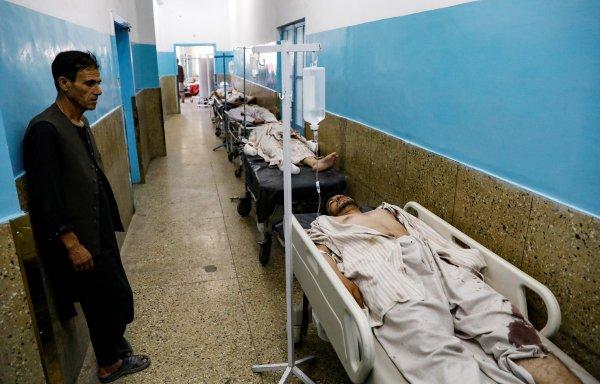 Afganistan'da düğün salonuna bombalı saldırı
