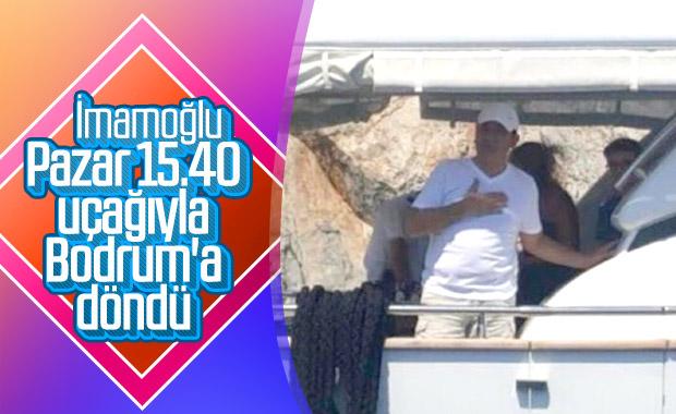 Ekrem İmamoğlu, Bodrum'a geri döndü