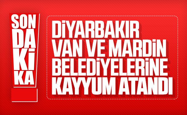 Diyarbakır, Van ve Mardin belediyelerine operasyon