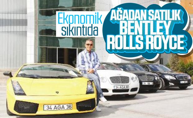 Ali Ağaoğlu otomobillerini satıyor