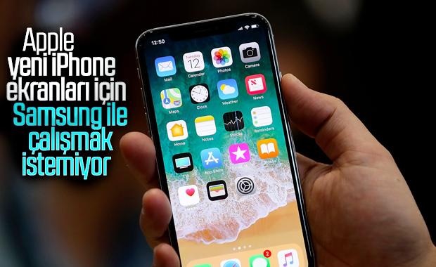 Apple, iPhone ekranları için Samsung ile yollarını ayıracak