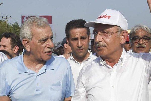 Kılıçdaroğlu'ndan, Ahmet Türk'e kayyum telefonu