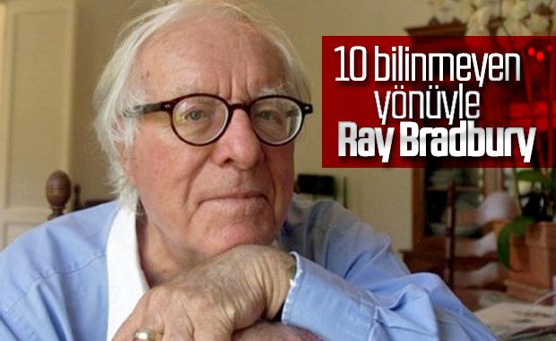 10 bilinmeyen yönüyle Ray Bradbury