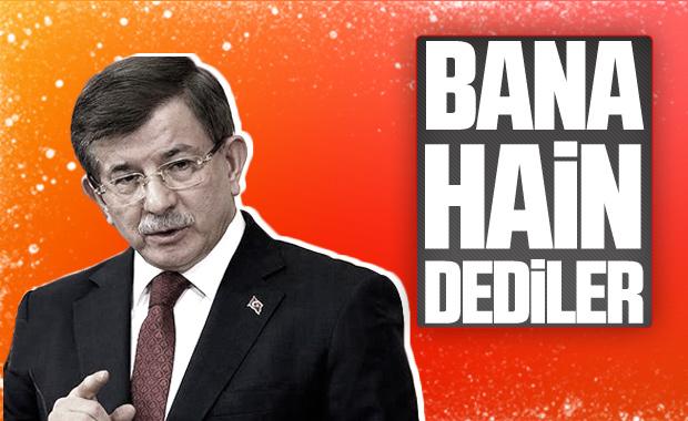 Davutoğlu'ndan Cumhurbaşkanı Erdoğan'a hain yanıtı
