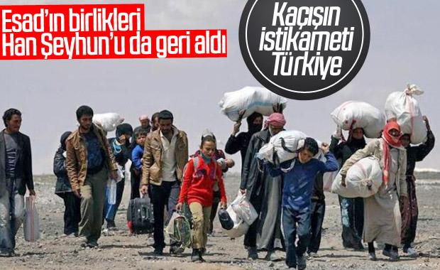 Saldırılar sonrası Türkiye sınırındaki Suriyeli sayısı artıyor