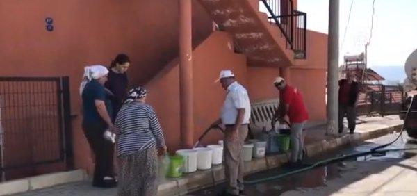 İzmir'deki su kesintileri vatandaşı bıktırdı