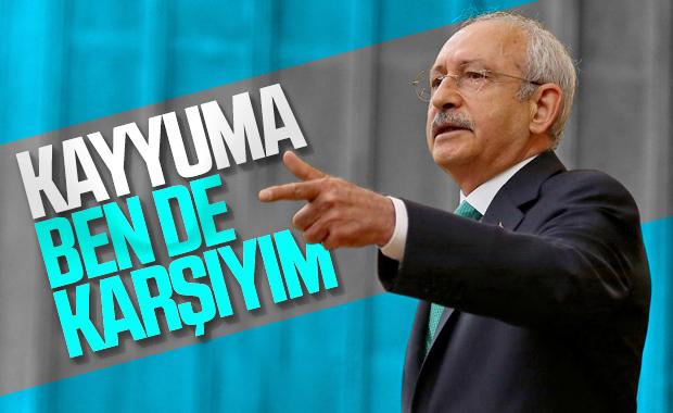 Kemal Kılıçdaroğlu kayyum atamalarına karşı çıktı
