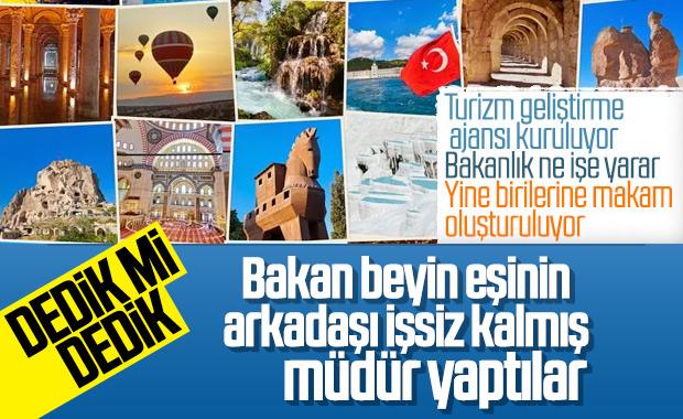 Türkiye Turizm Tanıtım ve Geliştirme Ajansı kuruldu