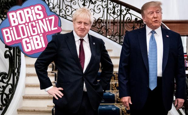 Donald Trump-Boris Johnson bir araya geldi