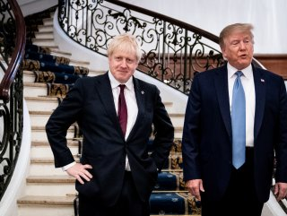 Donald Trump-Boris Johnson bir araya geldi