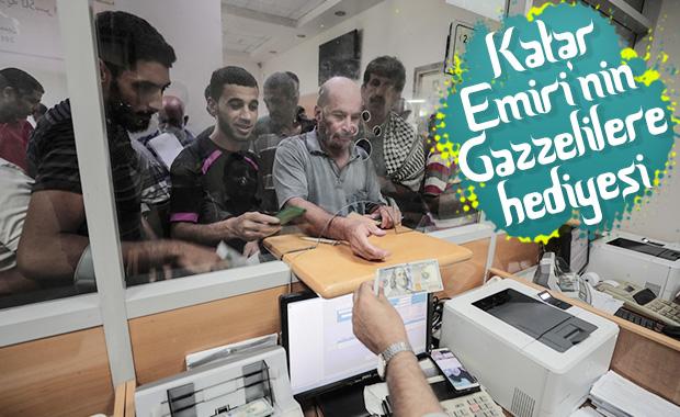 Katar, Gazze'de yoksul ailelere 10 milyon dolar dağıttı