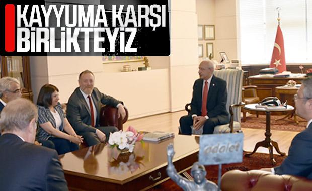 HDP ile CHP'nin kayyum görüşmesi