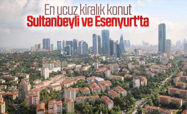 İstanbul'un konutta en ucuz ve en pahalı ilçeleri belli oldu