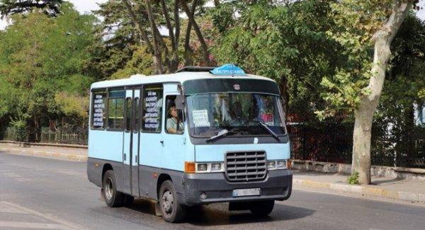 İstanbul'da minibüs ücretine zam