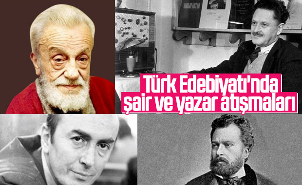 Edebiyatımızdan ünlü şair ve yazarların atışmaları