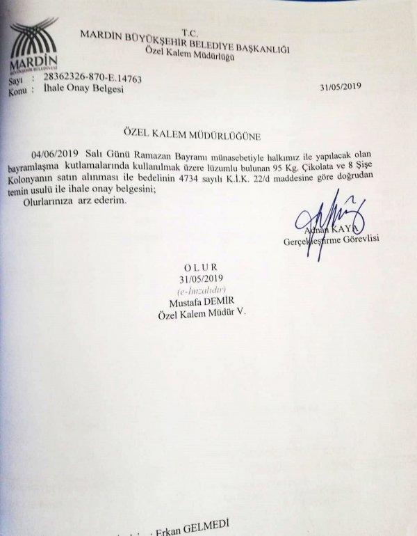 HDP'li Ahmet Türk'ün dudak uçuklatan harcamaları
