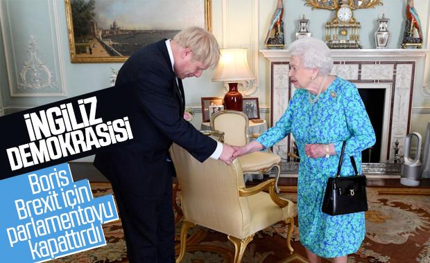 Boris Johnson, parlamentoyu askıya almayı başardı