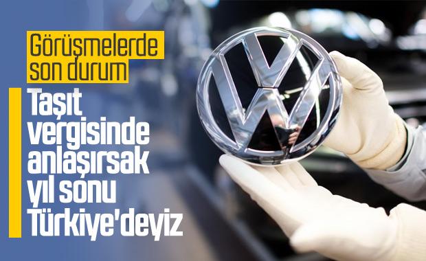 Volkswagen'in Türkiye'ye yatırım görüşmeleri devam ediyor