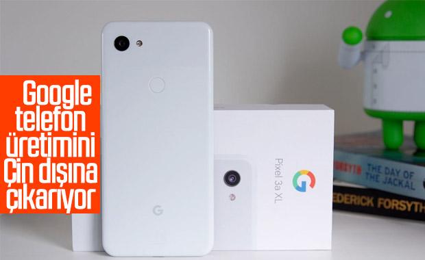 Google, akıllı telefon üretimi için Çin'den vazgeçiyor