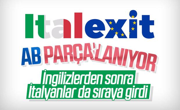 İtalya'da ITALEXIT gündemde
