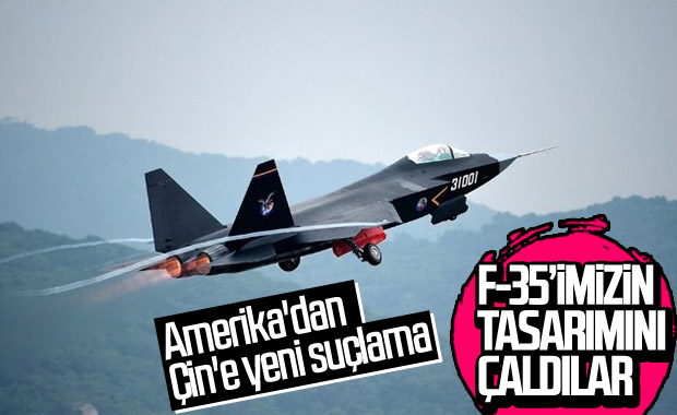 Bolton: Çin'in yeni ürettiği savaş uçağının tasarımı çalıntı