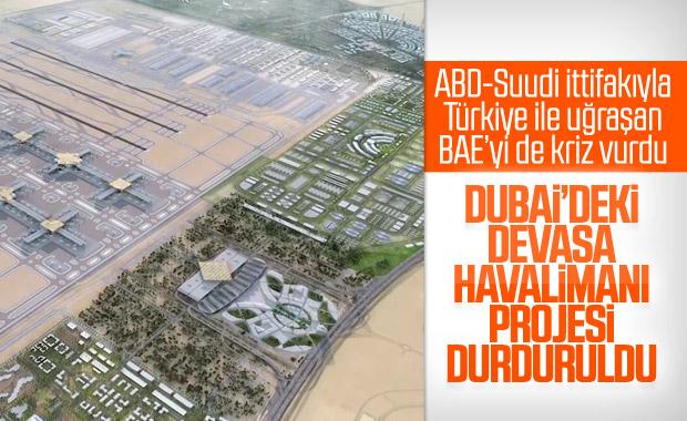 Dubai Havalimanı ekonomik kriz nedeniyle durduruldu