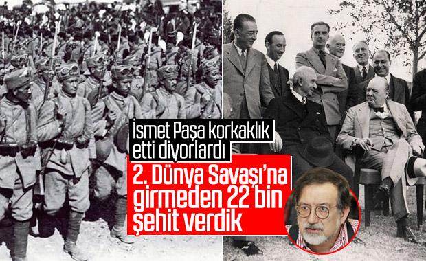 Murat Bardakçı: 2. Dünya Savaşı'nda 22 bin şehit verdik