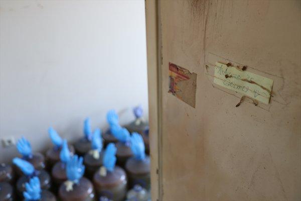 Bartın'da sahte içki üretenlerin evinde patlama oldu