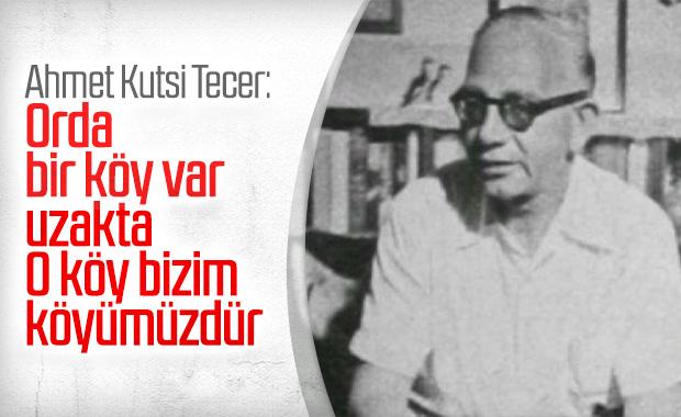 Ahmet Kutsi Tecer'den seçilmiş 10 özel şiir