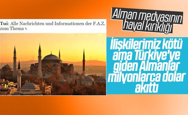 Türkiye'ye gelen Alman sayısı Alman medyasının gündeminde