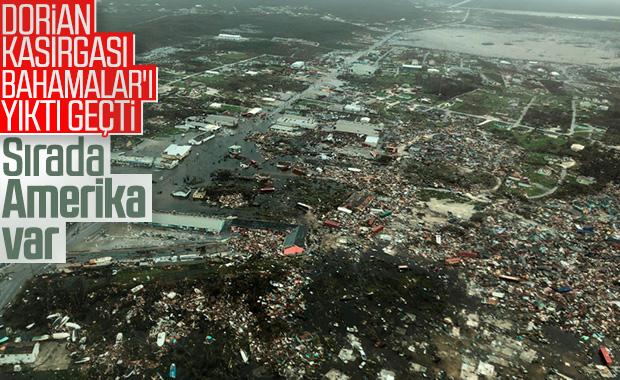 Dorian Kasırgası'nda ölenlerin sayısı 7'ye yükseldi
