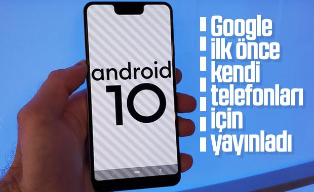 Google Pixel telefonları için Android 10 yayınlandı