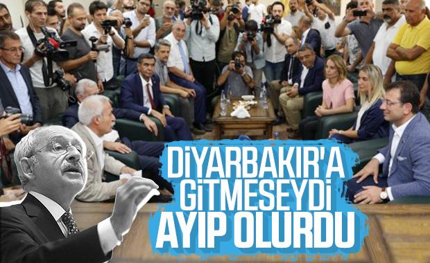 İmamoğlu'nun Diyarbakır ziyareti Kılıçdaroğlu'na soruldu