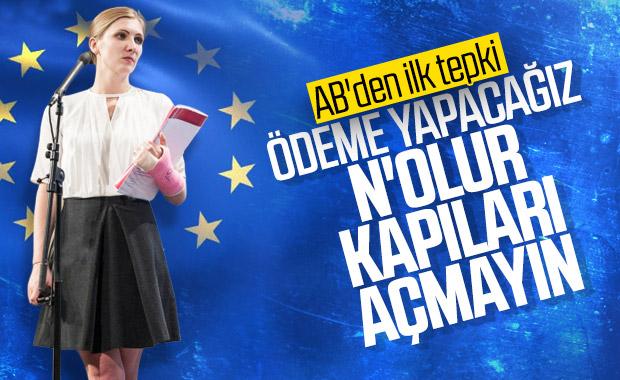 AB: Sığınmacılar konusunda Türkiye'ye güveniyoruz