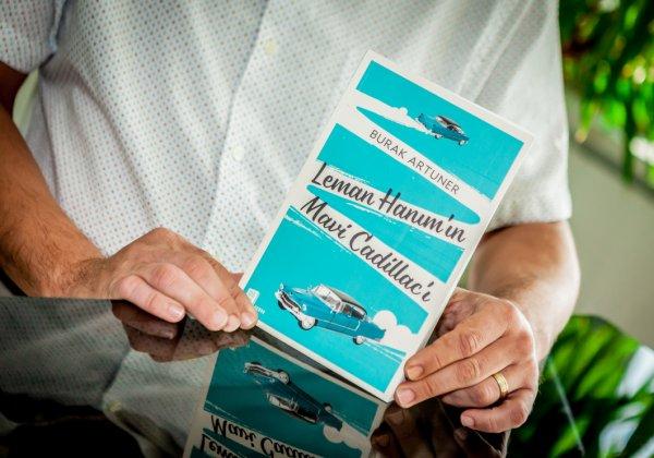 Burak Artuner, romanı Leman Hanım'ın Mavi Cadillac'ını anlatıyor