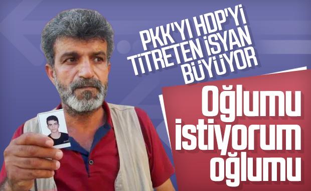 Diyarbakır'da çocukları kaçırılan ailelerin feryadı