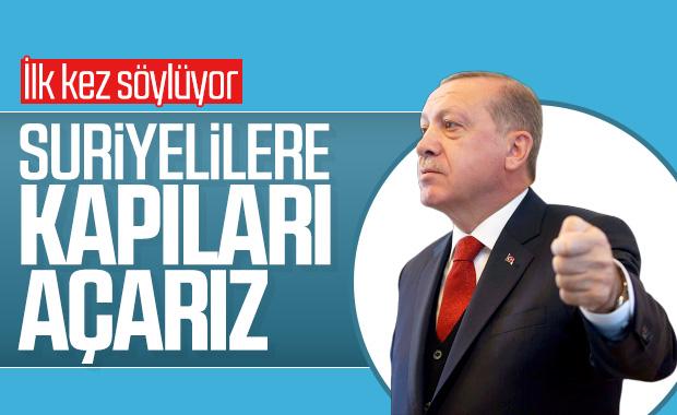 Cumhurbaşkanı Erdoğan'dan Avrupa'ya mülteci uyarısı
