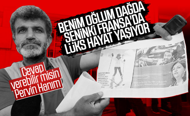 Diyarbakır'da çocuğu kaçırılan baba HDP'ye isyan etti
