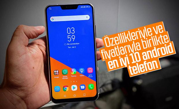 AnTuTu puanına göre ağustos ayının en iyi 10 android telefonu