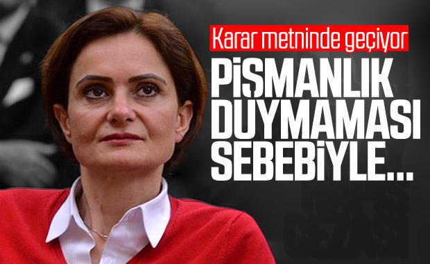 Canan Kaftancıoğlu davasında karar