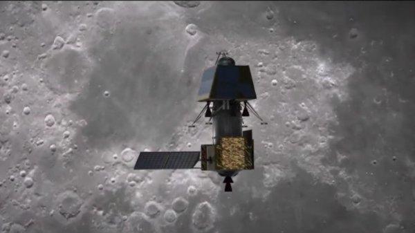 Hindistan, Ay'a inerken kaybolan araçla ilgili açıklama yaptı