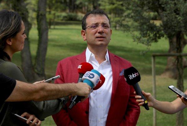 Ekrem İmamoğlu: Yenikapı'ya gitmem, utanıyorum