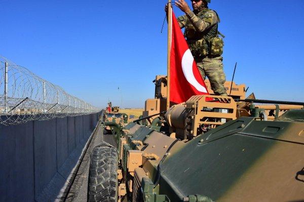Türk-ABD ortak devriyesinden ilk görüntüler