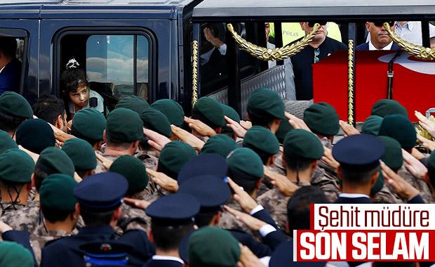 Şehit Müdür Tufan Kansuva'nın cenaze töreni