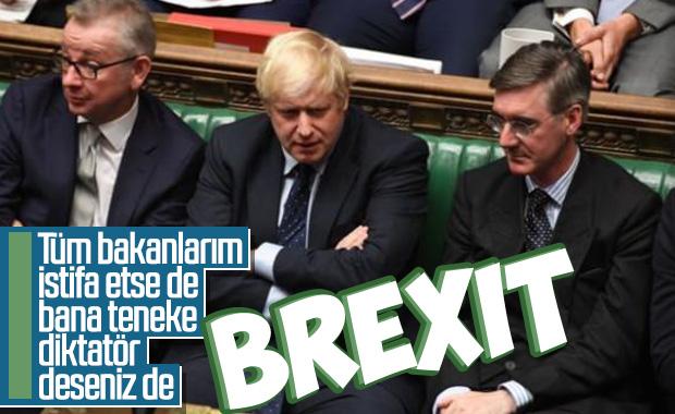 Boris Johnson'dan geri adım yok