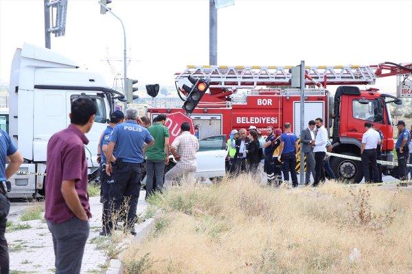 Hatay Emniyet Müdürü trafik kazası geçirdi