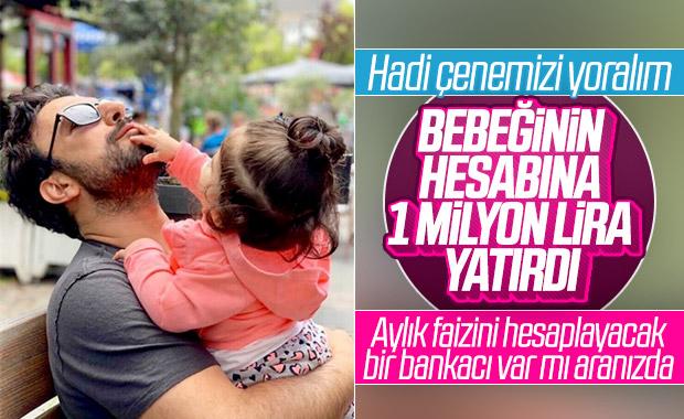 Tarkan, bebeği Liya'nın hesabına 1 milyon lira yatırdı