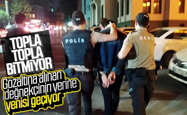 İstanbul'da değnekçi operasyonları devam ediyor