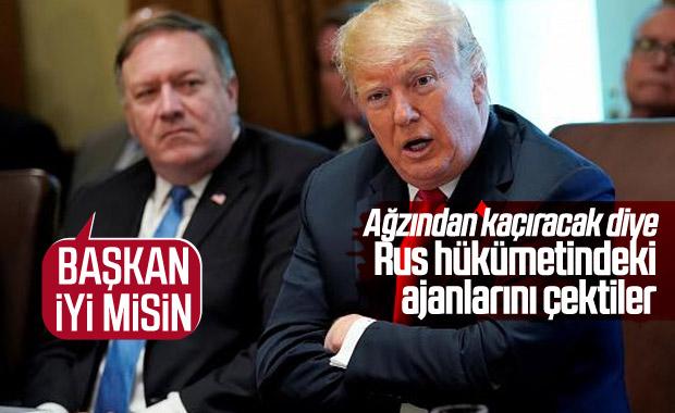 ABD, Trump yüzünden Rusya'daki casusunu geri çekti
